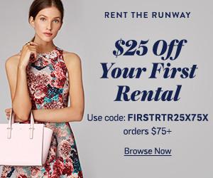 Rent The Runway coupon code