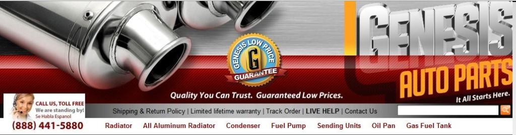 Genesis Auto Parts Coupon Code