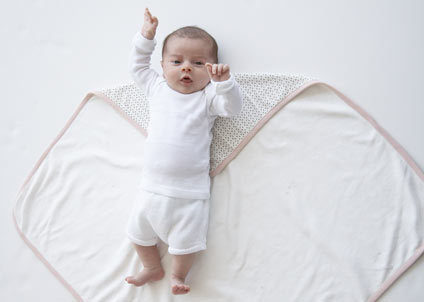 How to swaddle your baby