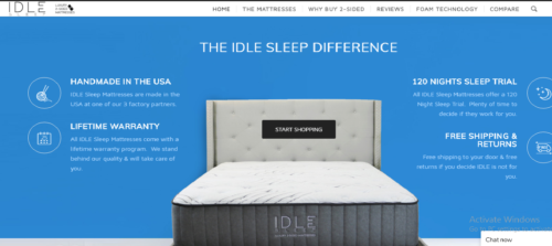THE IDLE SLEEP DIFFERENCE