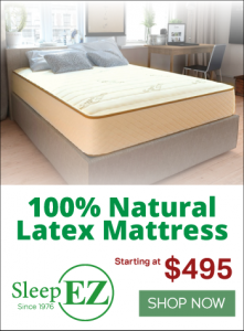 Sleep EZ latext matress deals and offers