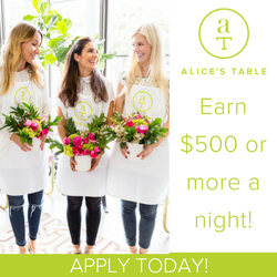 Alice's Table Coupon Code and deals