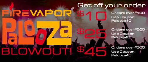 FireVapor deals and offers