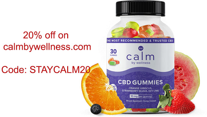 Calm by Wellness coupon code and deals