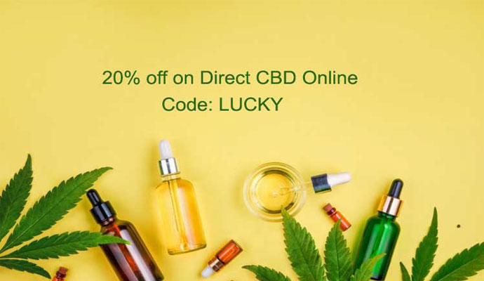 Direct CBD online coupon code and deals