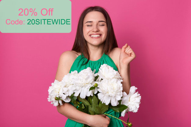 Pick Up Flowers coupon code and deals